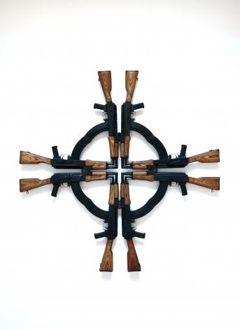 MEL CHIN, Cross for the Unforgiven, 2012
