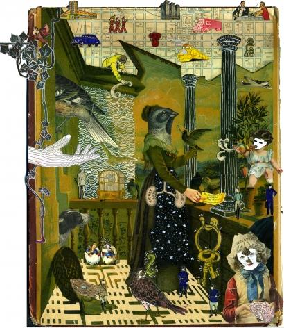 MICHAEL PAJON, Aviary of Kept Men and Hungry Messengers, 2012