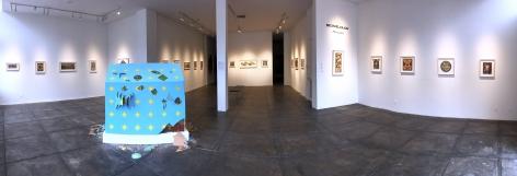 MICHAEL PAJON    Palimpsest, [Main Gallery Installation View]