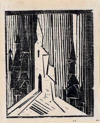 Lyonel Feininger: Unique and Rare Prints from Quedlinburg