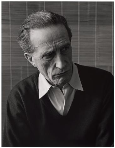 Portrait of Marcel Duchamp, 1953, photograph