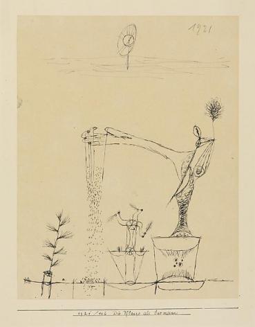 Die Pflanze als Saemann (The Plant as Sower), 1921, 146