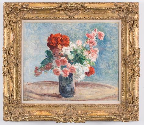 Vase de fleurs, 1915–25 (framed)