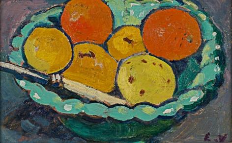 , Coupe verte, oranges et citrons, 1909