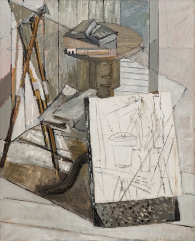 Marguerite Louppe Studio Still Life with Sketch, c.1960