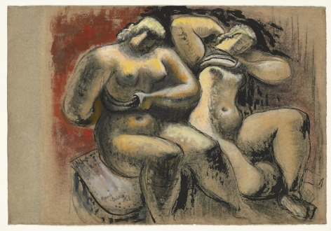Frank Dobson, Two Women, 1943