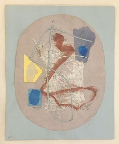 Anne Ryan,Untitled (No. 232) group C, c. 1948–1954