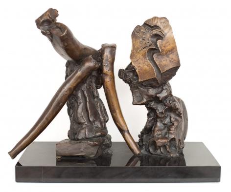 Satyricon I, 1980, bronze