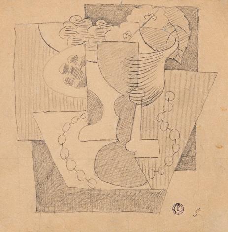 Léopold Survage Nature Morte au Compotier, c. 1919