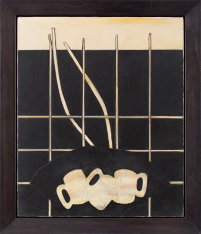 Prunella Clough Still Life with Mugs, 1988