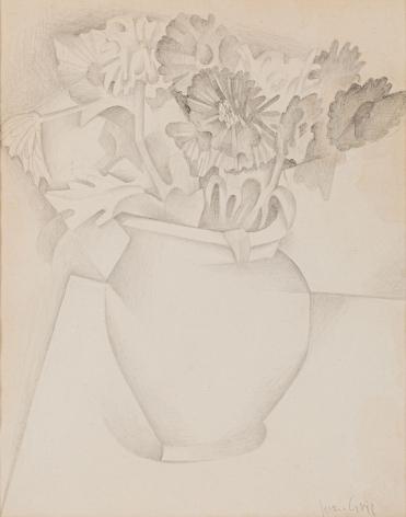 Juan Gris, Bouquet de fleurs, early 1920s