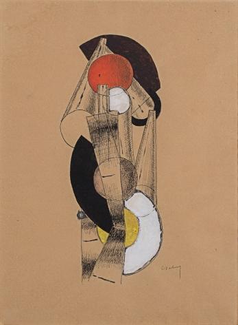 Joseph Csaky Imbrication de Cones, 1920