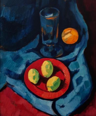 Marsden Hartley Still Life with Lemons (Fruit and Tumbler),1928