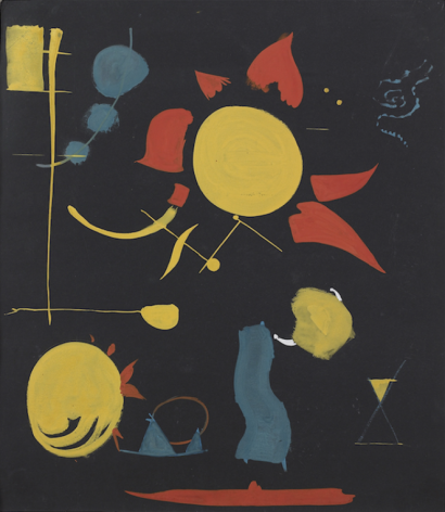 Perle Fine,Study for Fireworks, 1945