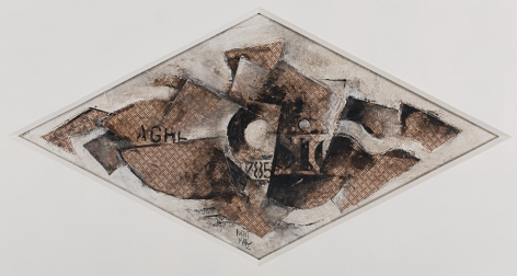 Robert Marc,Cubist Composition,c. middle - late 20th century
