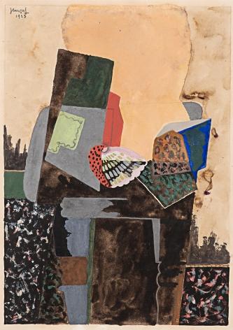 JeanLurçat, Nature morte au coquillage, 1923