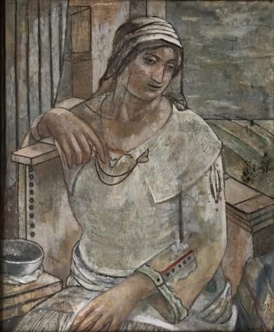 Isabel Bishop,Seated Woman, 1924