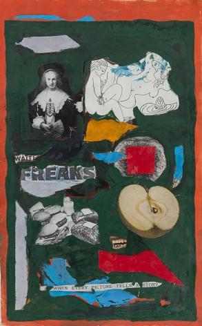Beatrice Mandelman Untitled (Freaks), c. 1960s