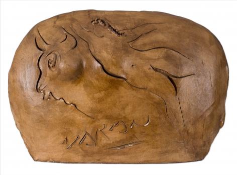 Europa and the Bull, 1964-65, terracotta