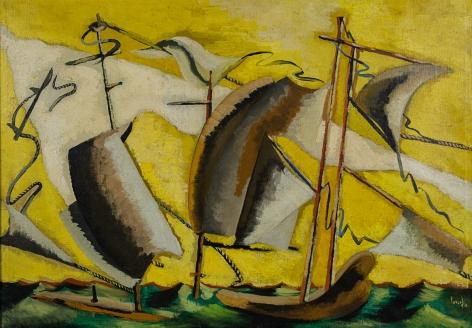 JeanLurçat, Les bateaux, 1931