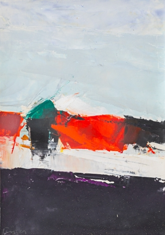 Breakwater: Red and Black, 1962