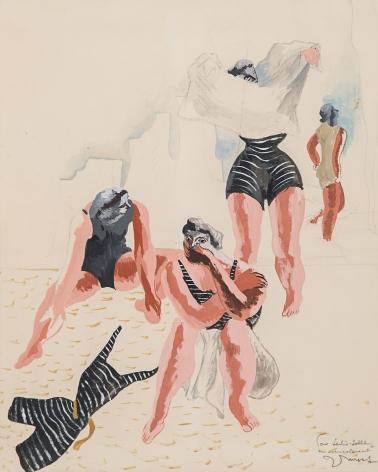 Les baigneuses, 1933