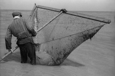 FredStein Fisherman with Net, France, 1935