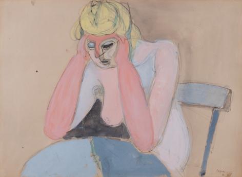 JeanHélion Femme accoudée, 1946