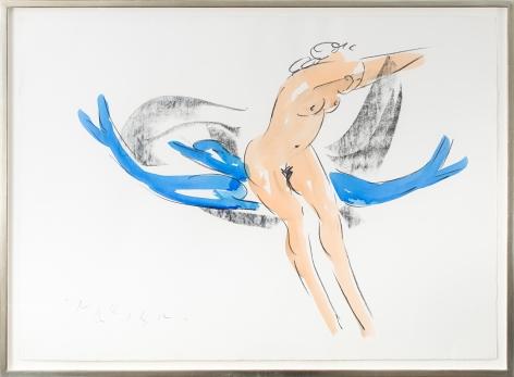 ReubenNakian Nymph and Dolphins, 1982–85