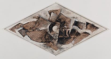 Cubist Composition, c. middle - late 20th century
