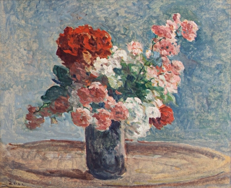 Maximilien Luce Vase de fleurs, 1915-25