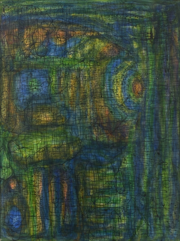 Fahrelnissa Zeid,Composition, c. 1953