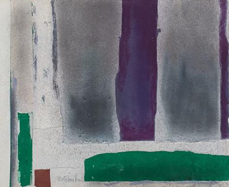 Esteban Vicente,Untitled,1980