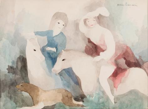 Marie Laurencin,Femmes d'équitation