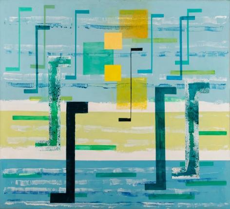 Irene Rice-Pereira,Spirit of Mercurius, c. 1958