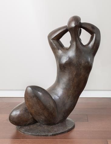 Baltasar Lobo Femme à la chevelure tressée, 1990