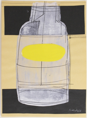 Sonja Sekula,Untitled (Bottle), 1958