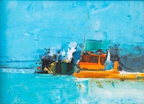 Port - Blue and Orange, 1966