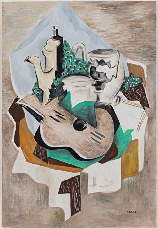 Serge Férat Nature Morte à la Cafetière à la Guitare, c. 1918