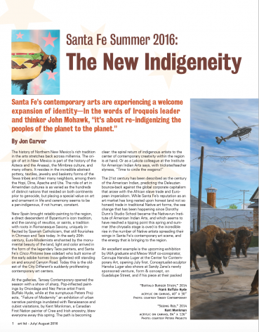 The New Indigenity