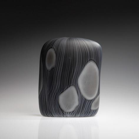 Close Impression, Black with Grey, (square)