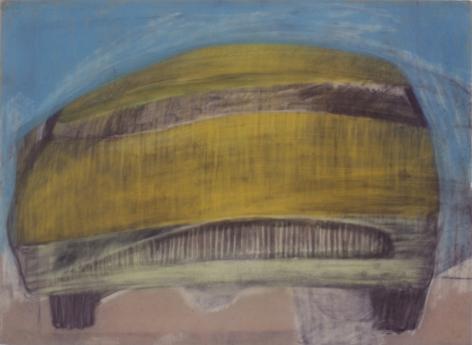 Peter Saul  Yellow Car, c. 1957