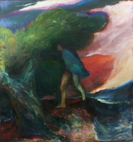 Figure with Tree 1972