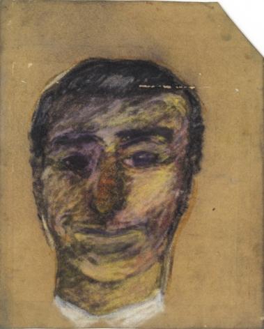 Peter Saul  Portrait of a Man, c. 1957