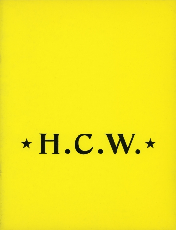 H.C.W.: Recent Sculpture by H.C. Westermann
