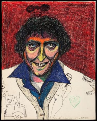 Self-Portrait Smiling 1977
