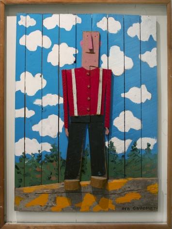Red Grooms, Lumberjack 1977