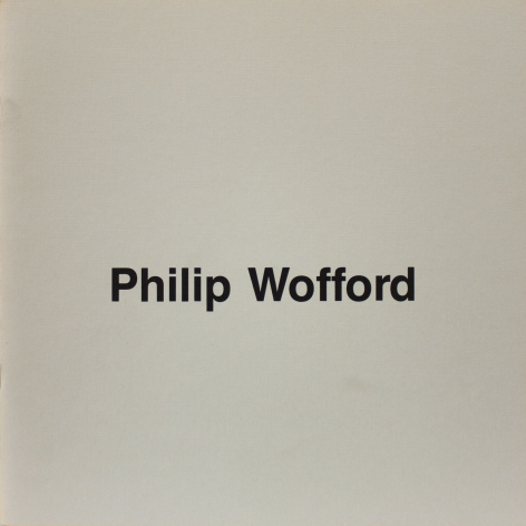 Phillip Wofford: New Paintings