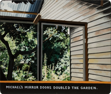 Michael's Mirror Doors Double the Garden 2015