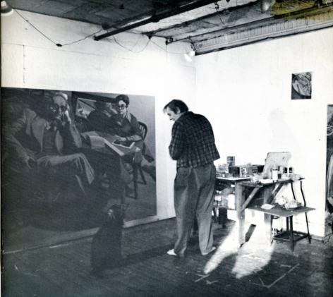 Catalog cover, 'Jack Beal: New Paintings and Drawings,' Allan Frumkin Gallery, 1975.